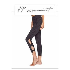 Free People infinity Movement cut out activewear